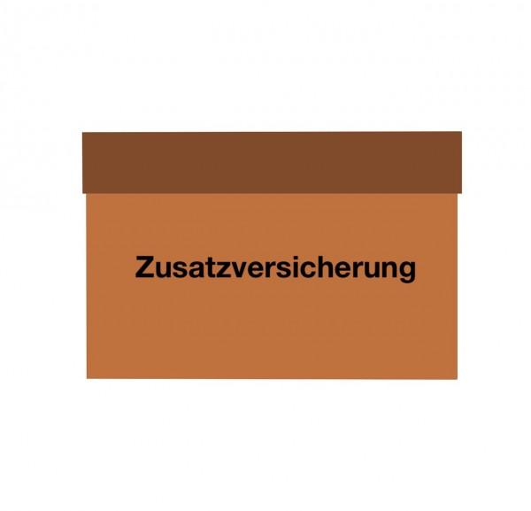 Paket Zusatzversicherung ab Euro 500.- Warenwert