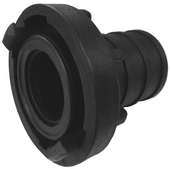C-Kupplung Kunststoff mit Schlauchtülle Ø38mm