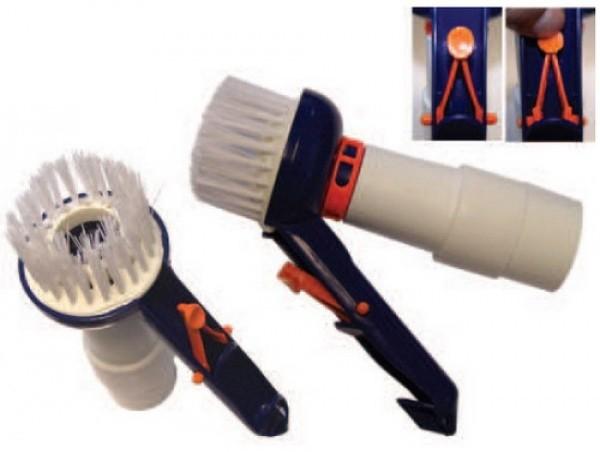Saugbürste für Ø38mm & Ø50mm Schläuche mit Pressclip