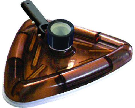 Dreieckbürste, Bodensauger für Ø50mm Schläuche mit Pressclip