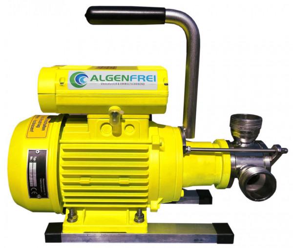 Impeller Teichschlammsauger mobil mit 5m3 Leistung pro Stunde