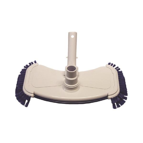 Bodensaugbürste, Wandreinigungsbürste 35 cm breit für Ø38mm Schläuche mit Pressclip