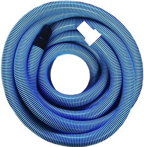 Schlauch-Verlängerung 6 m Ø38mm blau mit drehbarer + fester Muffe