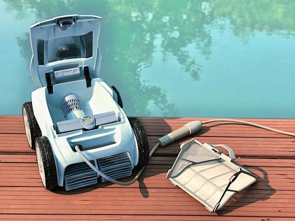 Zodiac Alpha 63 iQ Bio Poolroboter, automatischer Schwimmteichroboter bis 12m Beckenlänge