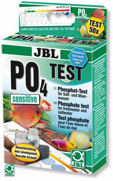 PO4 Phosphat Sensitive Test von 0.02 - 1.8 mg/l