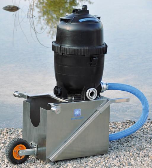 Feinfilter zur Wasserrückführung bis 20 Mikron